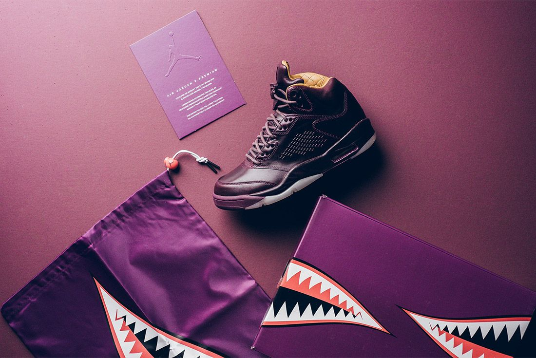 Air Jordan 5 Retro Premium Bordeaux 881432 612 Sneaker Freaker 5