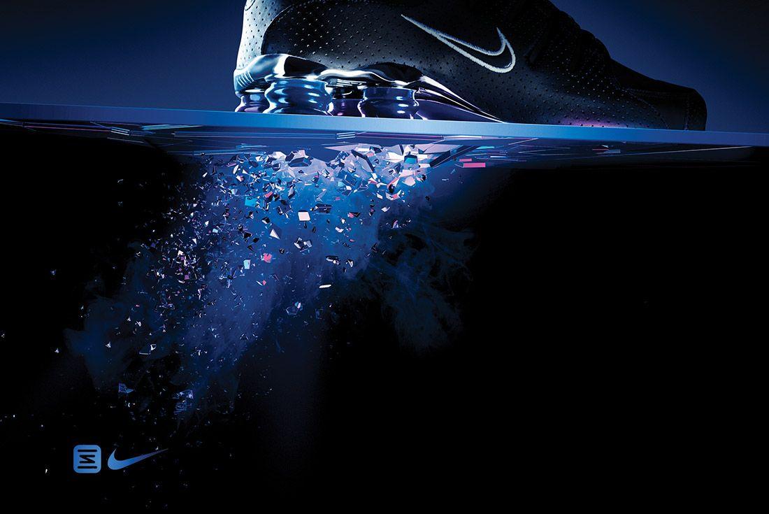 Material Matters Nike Shox Big Ad 1