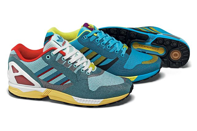 Adidas Originals Zx Flux 000 Og Weave Pack 1