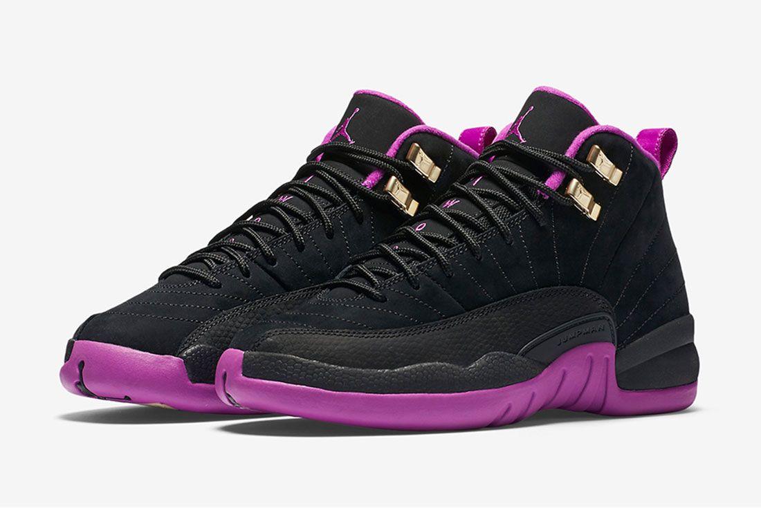 Air Jordan 12 Gs Violet 1