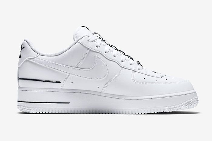 Nike Air Force 1 Low Double Air Cj1379 100 Release Date 2 Official