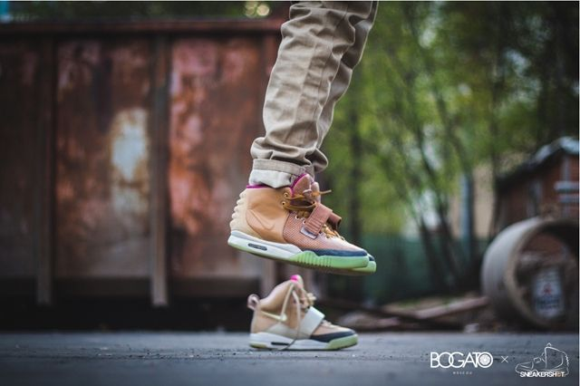 Nike Air Yeezy 2 Custom Maggi 1