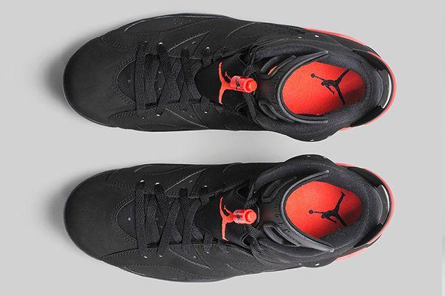 Air Jordan 6 Black Infrared Official Images 3