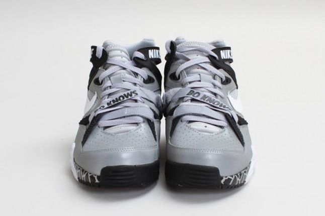 Nike Air Trainer Max 91 Qs Nfl Wolf Greywhite Front Profile 1