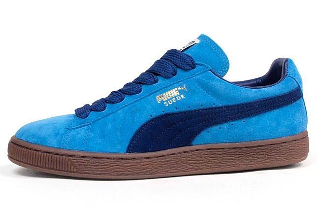 Puma Suede Eco Blue 1
