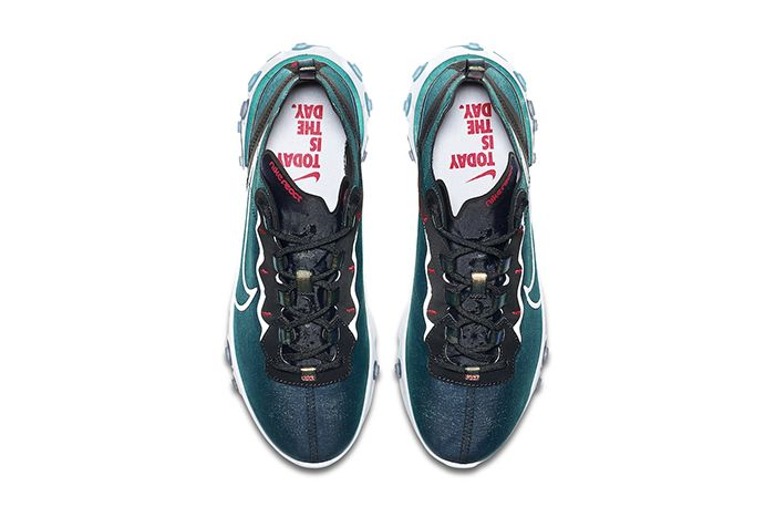 Nike React Element 55 Magpie Cn5797 011 Release Date Top Down
