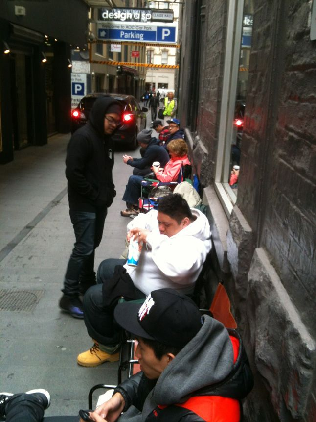 Yeezy Melbourne Queue 1