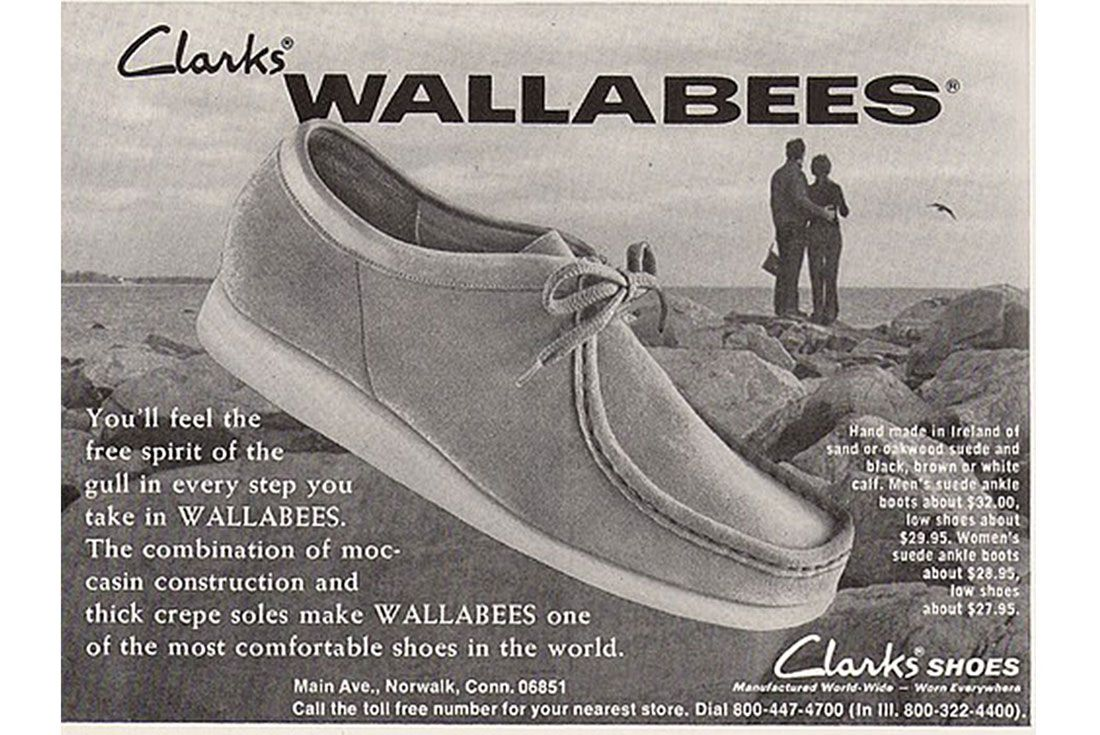 Clarks Wallabee Ad Well Dressed Dad