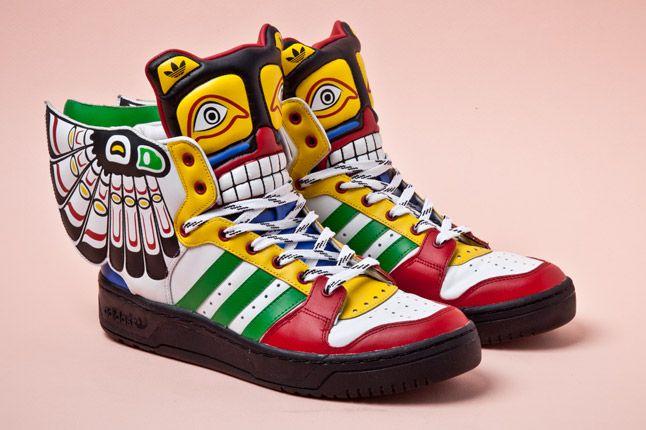Adidas Originals Js Wings Totem Pole Pair 1