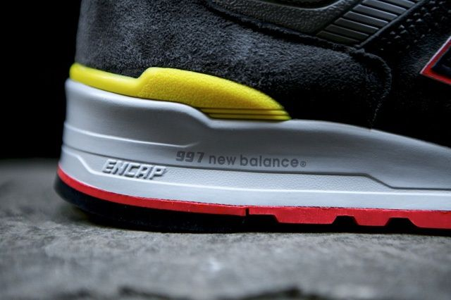 New Balance 997 Made Usa Dark Grey 5