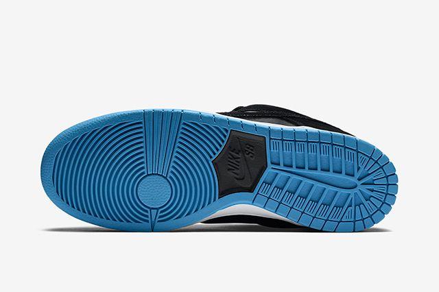 Nike Sb Dunk Low Pro Blackuniversity Blue