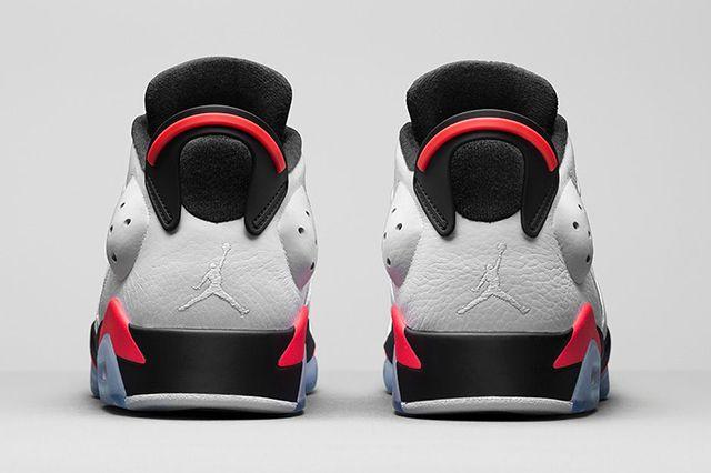 Air Jordan 6 Low Infrared 4