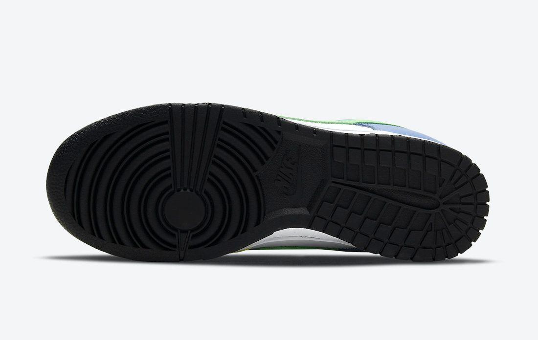 Nike Dunk Low Green Strike