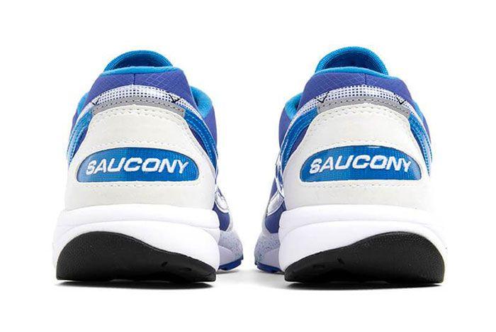 Saucony Aya Blue Heel Shot