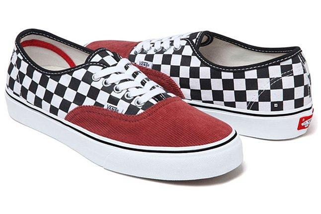 Supreme Vans Authentic Corduroy Checker 01 1