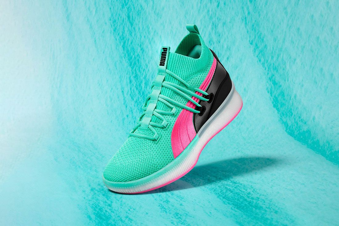 Puma Clyde Court Disrupt South Beach Angle
