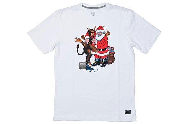 Santa Satan Nike Tee 1