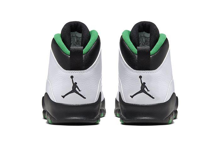 Air Jordan 10 Seattle 310805 137 Release Date Heel