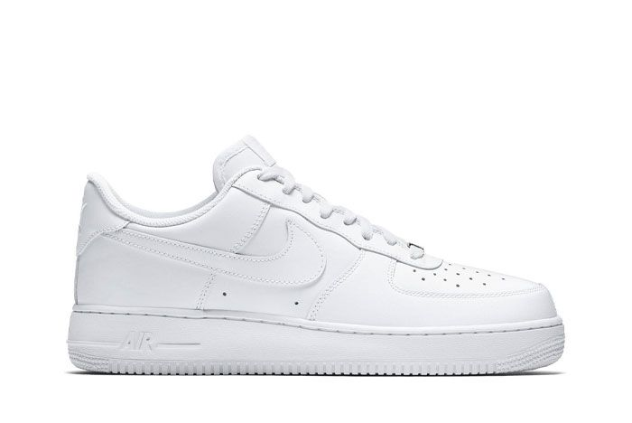 Nike Air Force 1 White Lateral