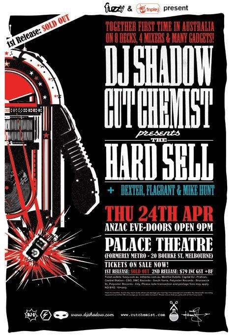 Dj Shadow And Cut Chemist Melbourne 2