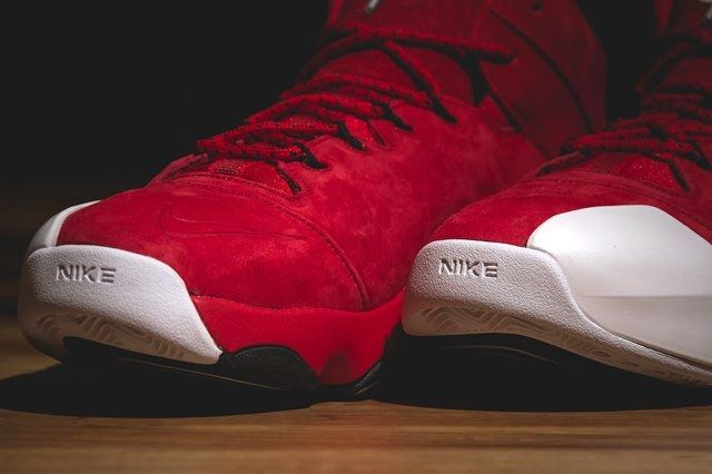 Nike Zoom Penny Vi University Red Bumper 3