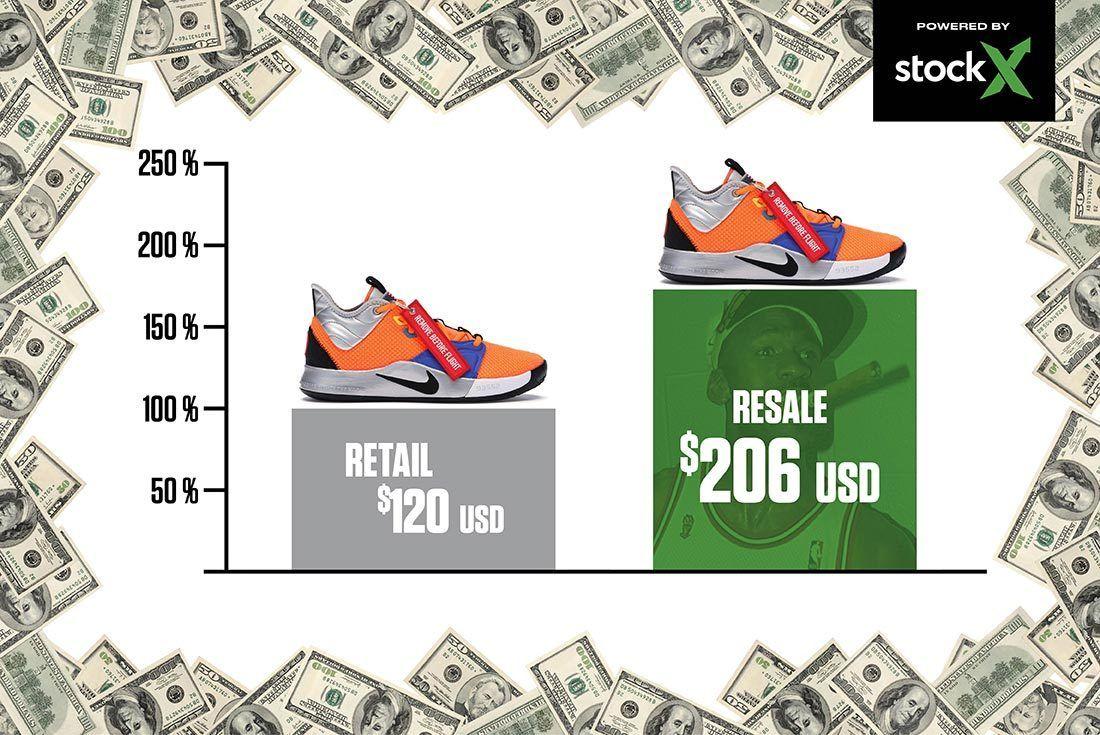 Nike Pg3 Nasa Right Shot