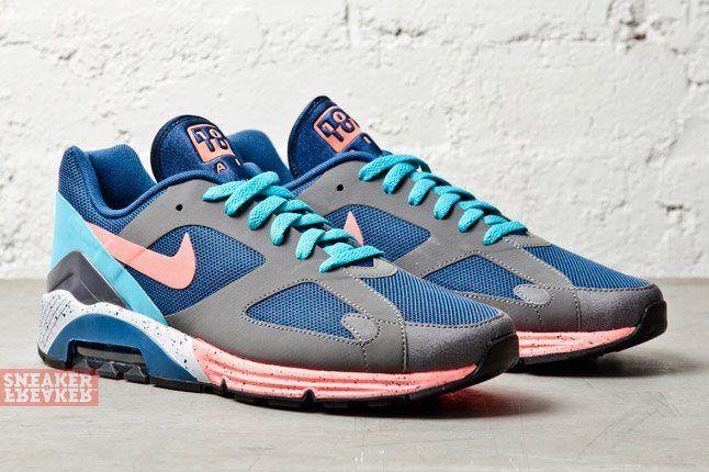 Nike Air Max Terra 180 Brave Blue Atomic Pink Graphite 2
