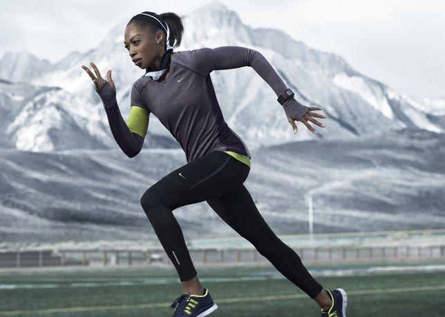 Nike Dri Fit Wool Allyson Felix