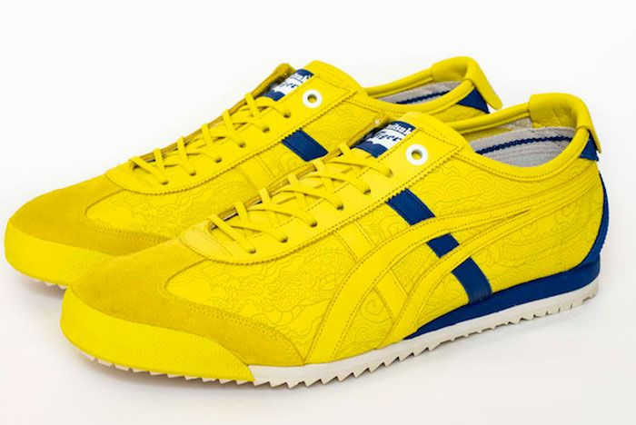 Street Fighter Onitsuka Tiger Chun Li Mexico 66 Sd Yellow Release Date Pair