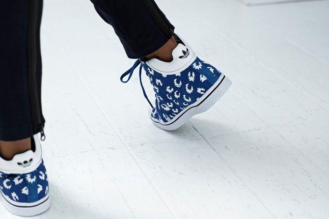 Adidas Originals Blue Spring Sneaker Blue White 1