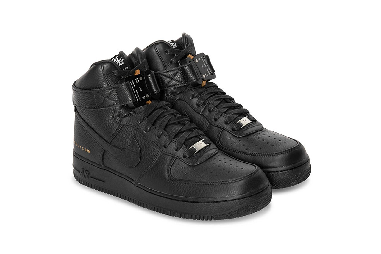 ALYX Nike Air Force 1 High Black