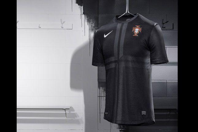 Nike Football Portugal Away Jersey On Rack 1