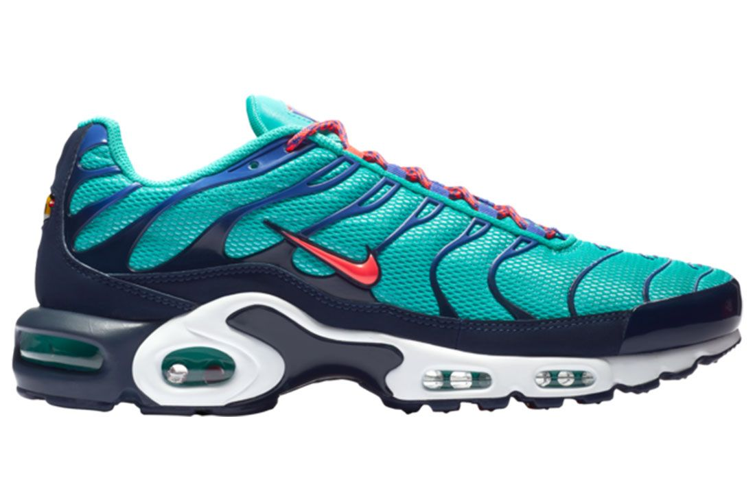 Nike Air Max Plus Hyper Jade Side Shot