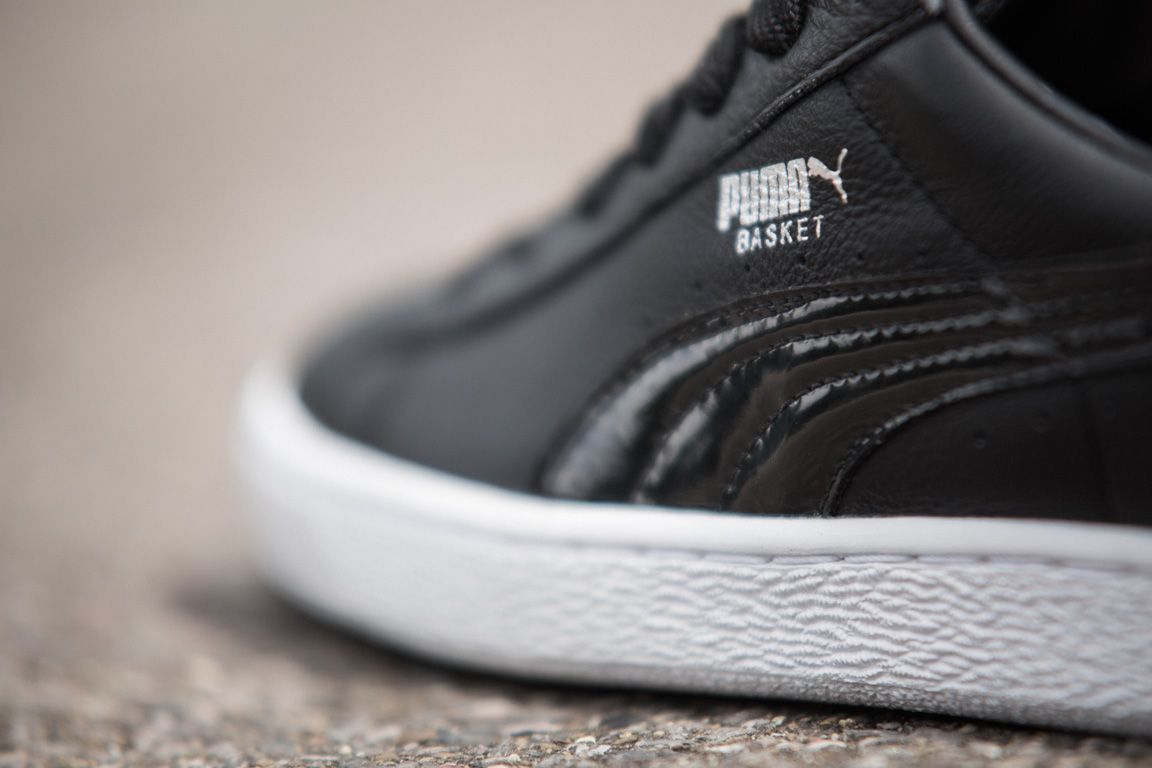 Puma Basket Black And White Pack 5
