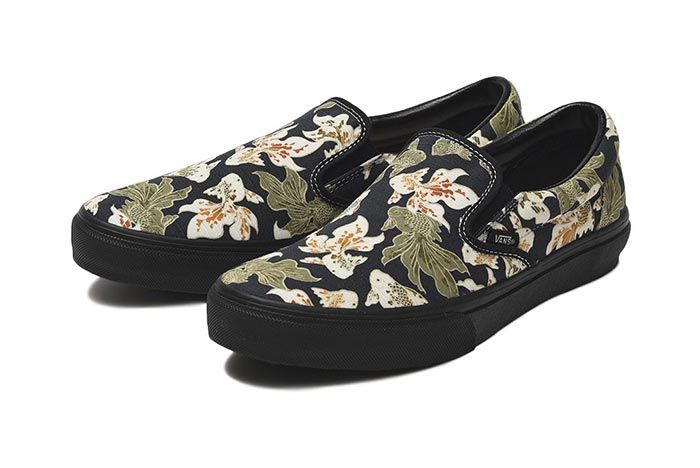 Vans Japan Fabrics Collection Slip On Pair