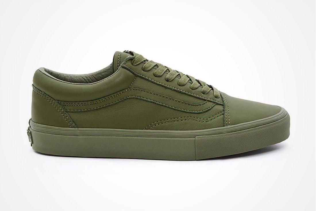 Opening Ceremony X Vans Leather Mono Pack A