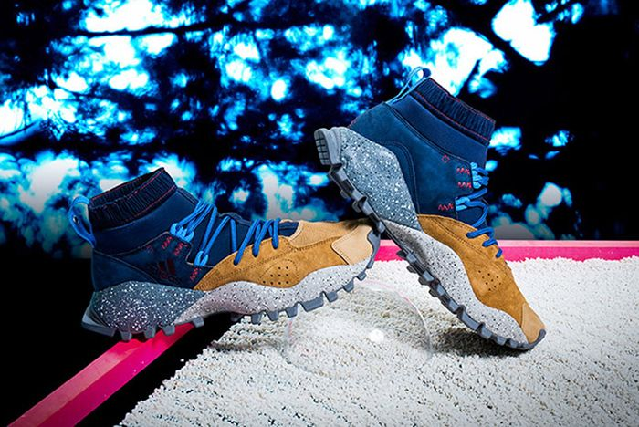 Mita Adidas Seeulater Night Indigo Blue Tan Feature
