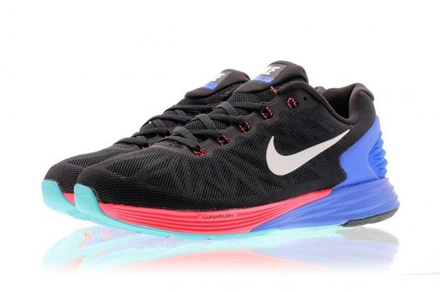 Nike Lunarglide 6 Hyper Punch Hyper Cobalt 2