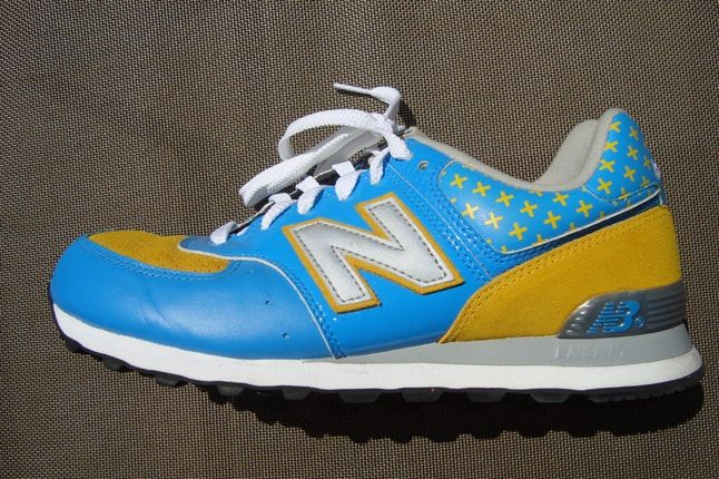 New Balance Skyblue Yellow 1