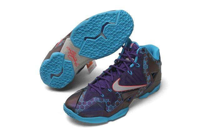 Nike Lebron 11 Xdr Summit Lake Hornets 1