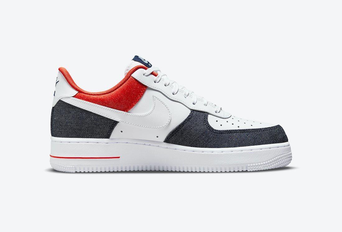 Nike Air Force 1 'USA Denim'
