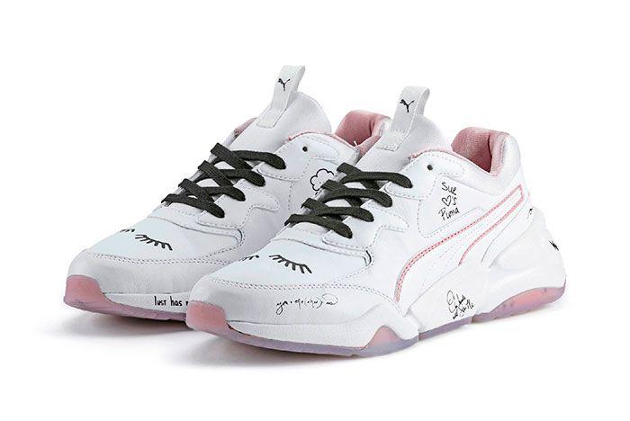 Puma X Sue Tsai Love 101Cali Aeon Nova Basket4 Pair5
