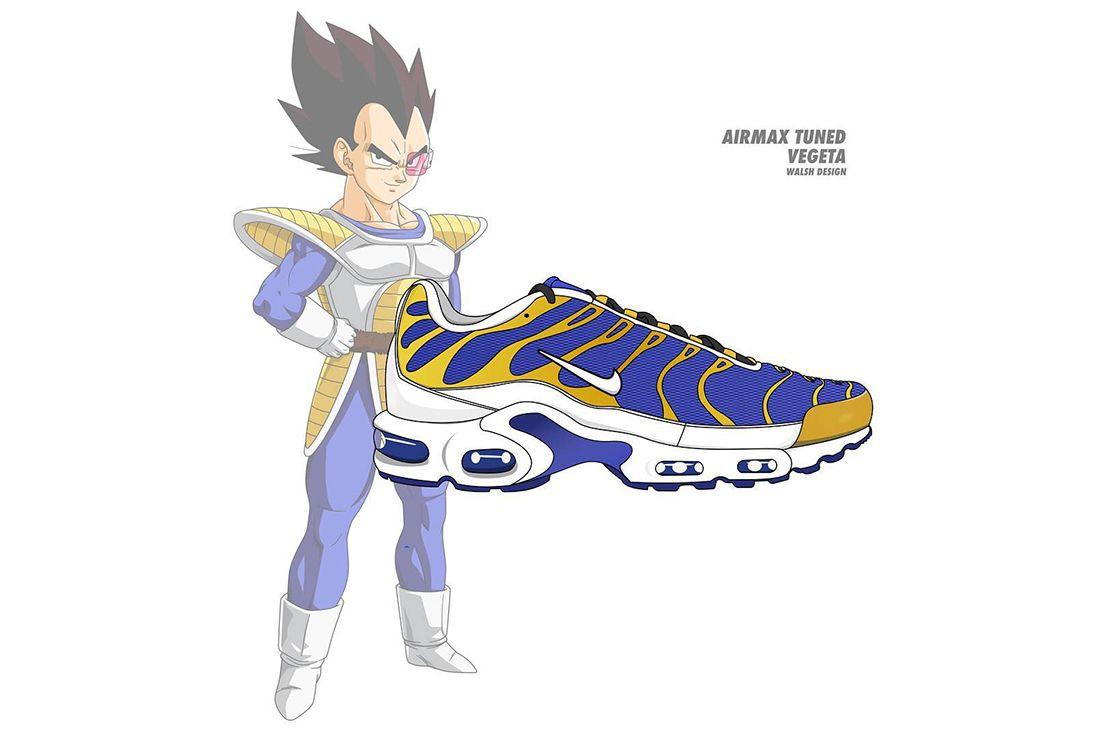 Dragon Ball Z Nike Walsh Design 12