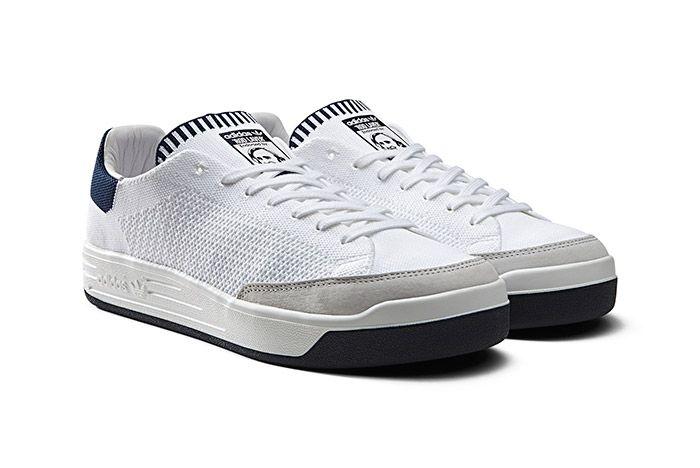 Adidas Rod Laver Primeknit Pk White 2