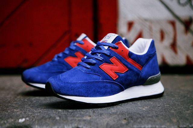 New Balance Wmns 576 Blue Red 12