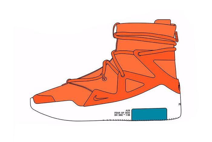 Nike Air Fear Of God 1 Colourways 2019 1