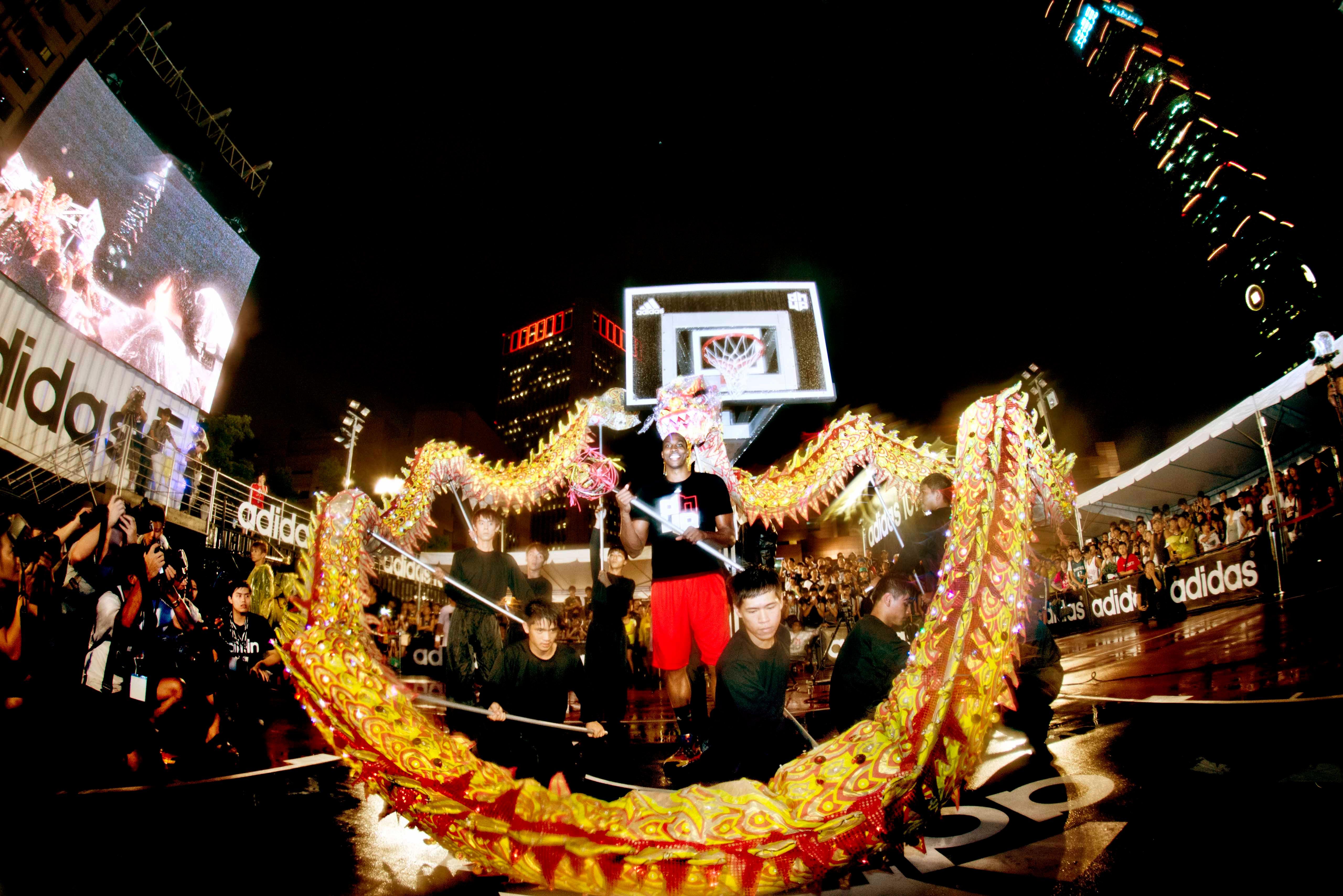 Adidas D Howard Tour In Taipei Taiwan 4