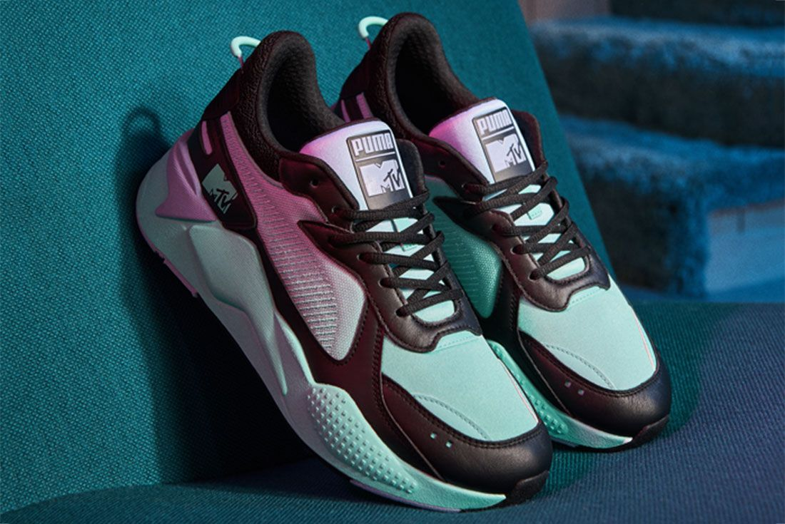 Puma Mtv Rs X Tracks Pink Front