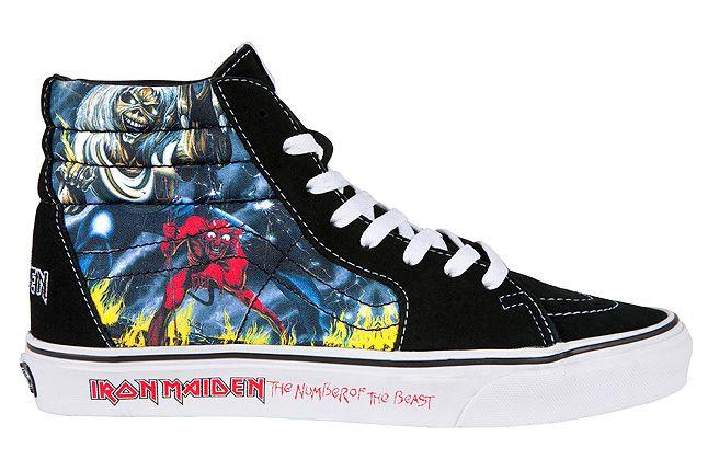 Vans Iron Maiden Notb 5 1