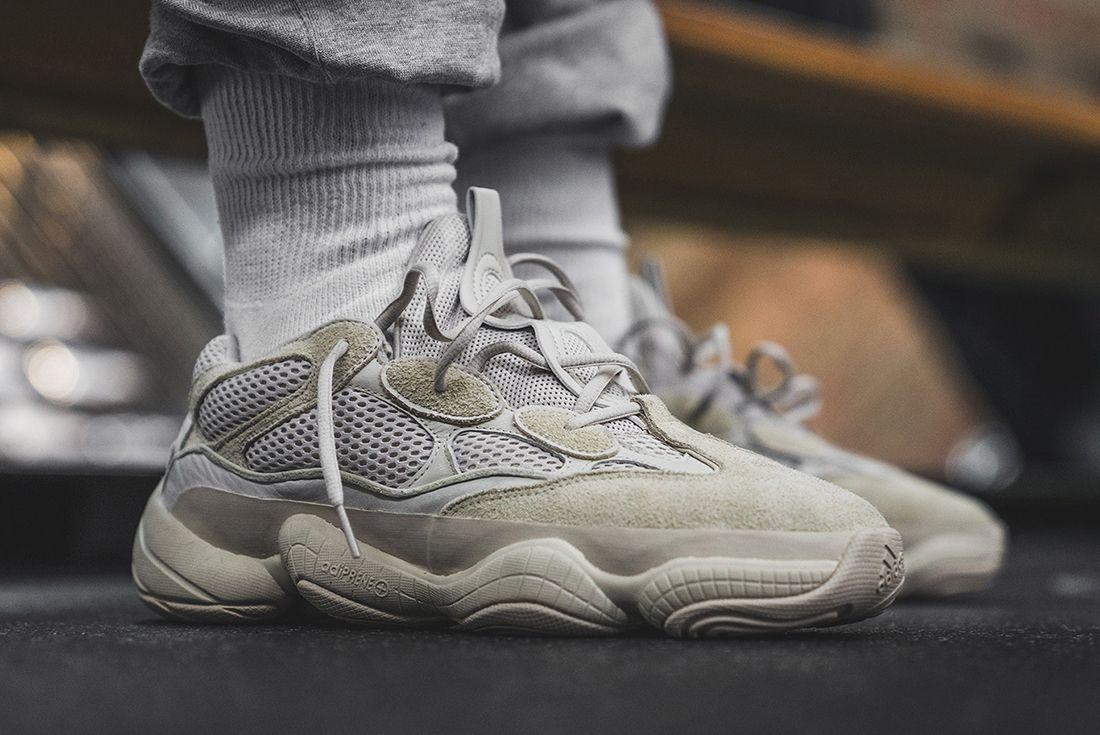 Yeezy Desert Rat 500 On Foot Sneaker Freaker 3